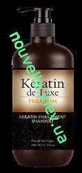 Keratin de Luxe Keratin de Luxe Шампунь восстанавливающий для волос с кератином 300 мл.