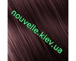 Nouvelle Lively Безаммиачная краска для волос 100 мл (50 оттенков) Nouvelle 4.62-Красный матово-коричневый